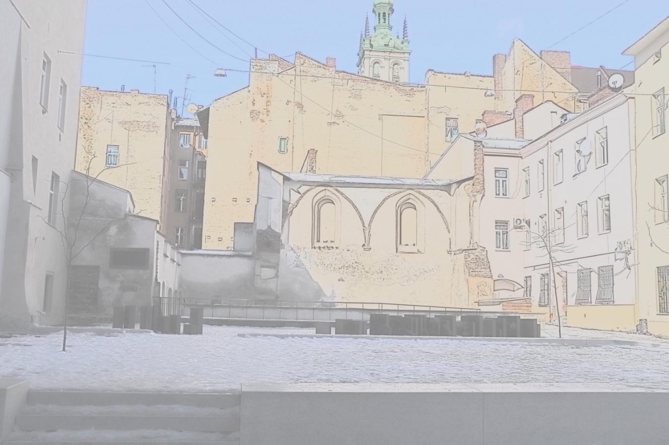 Міжнародний відкритий конкурс архітектурних, дизайнерських та ландшафтних проектів для впорядкування місць, пов'язаних з єврейською історією у м.Львові