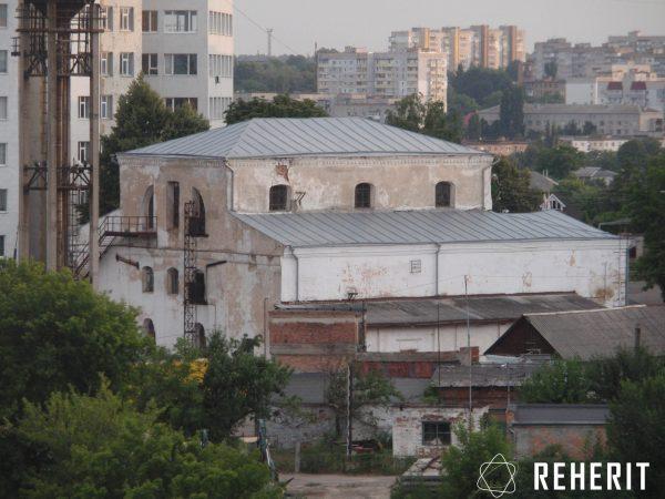 Велика синагога на території заводу «Мегомметр»