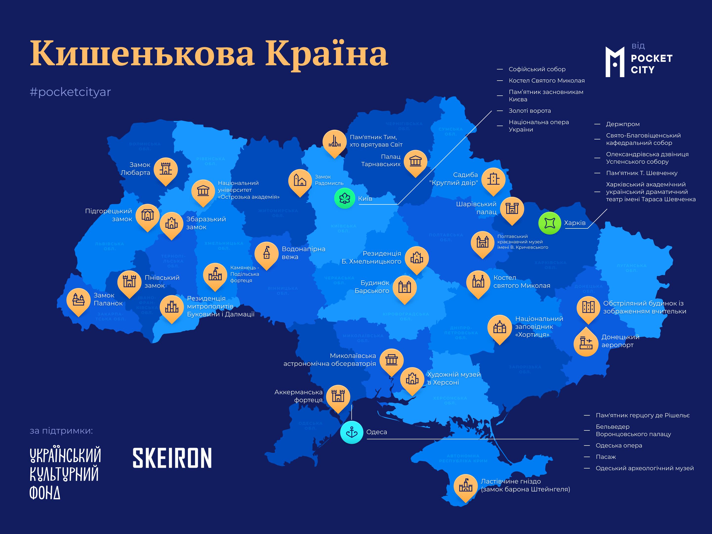 Кишенькова країна: масштабне оцифрування об'єктів спадщини та пам'яток архітектури України
